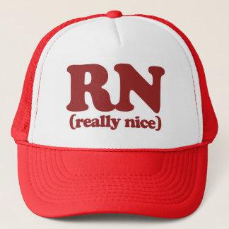 RN Really nice nurse Trucker Hat