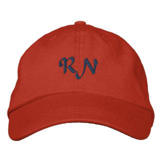 RN: Registered Nurse Embroidered Hat