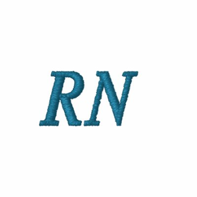 Rn registered nurse embroidered polo shirt zazzle for Custom embroidered polo shirts no minimum order