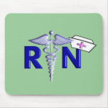 RN (Registered Nurse) Gifts-Embossed Style Mousepads