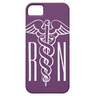 RN Registered Nurse iPhone case | caduceus symbol