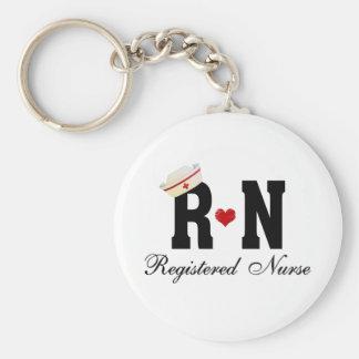 RN Registered Nurse Keychains
