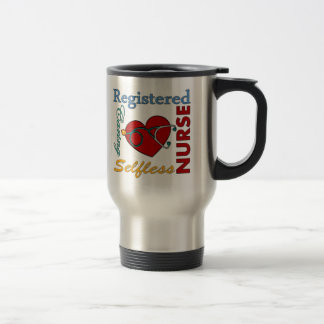RN - Registered Nurse 15 Oz Stainless Steel Travel Mug
