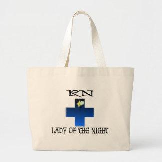 RN-Señora de la noche Bolsa Tela Grande