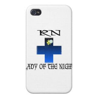 RN-Señora de la noche iPhone 4 Cárcasa