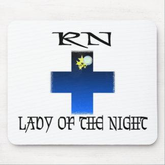 RN-Señora de la noche Mouse Pads