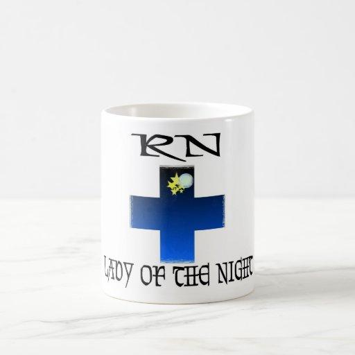 RN-Señora de la noche Tazas De Café