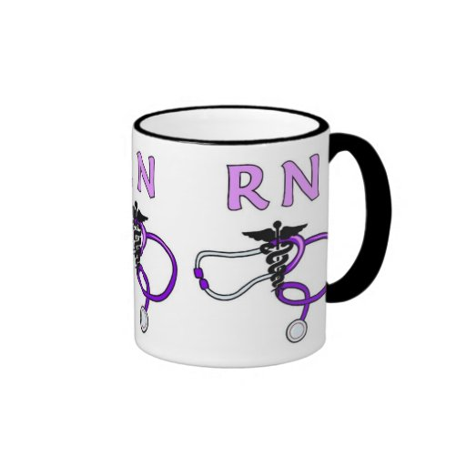 RN Stethoscope Coffee Mugs