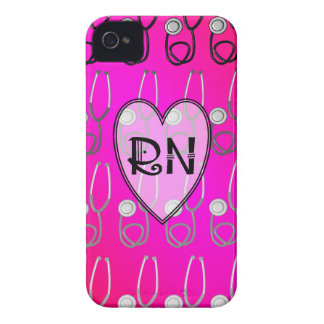 RN Stethoscope Design iPhone 4 Covers