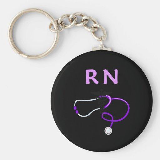 RN Stethoscope Keychain