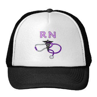 RN Stethoscope Mesh Hat