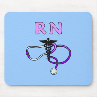 RN Stethoscope Mouse Pad