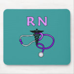 RN Stethoscope Mouse Pads