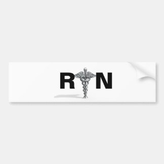 RN Sticker Car Bumper Sticker