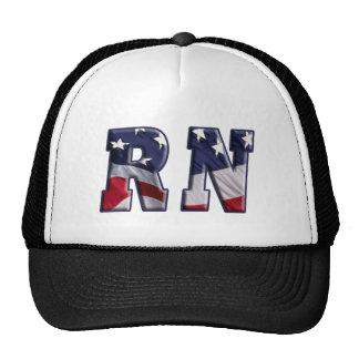RN USA FLAG WRAP RN TRUCKER HAT