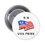 RN USA Pride Button