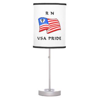 RN USA Pride Desk Lamps