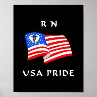 RN USA Pride Print