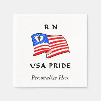 RN USA Pride Disposable Napkin