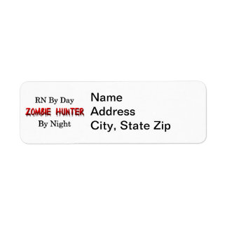 RN/Zombie Hunter Label