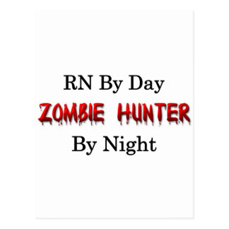 RN/Zombie Hunter Postcard