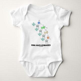 RNA Nucleobases (Biochemistry) Baby Bodysuit