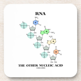 RNA The Other Nucleic Acid (Chemical Structure) Coaster