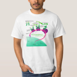 RNA Translation in Protein Synthesis Diagram T-Shirt