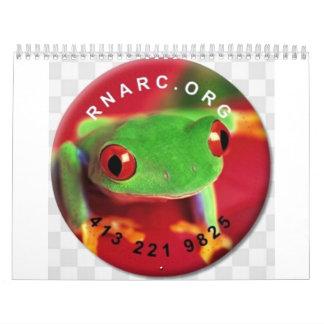 rnarc reptile calander calendar