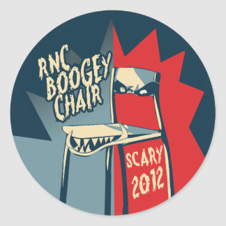 RNC Boogey Chair - Sheet of Stickers