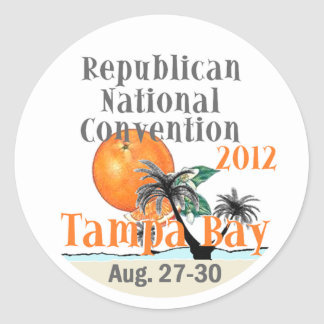 RNC Convention Classic Round Sticker
