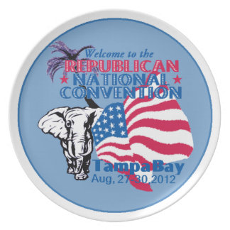 RNC Convention Dinner Plate
