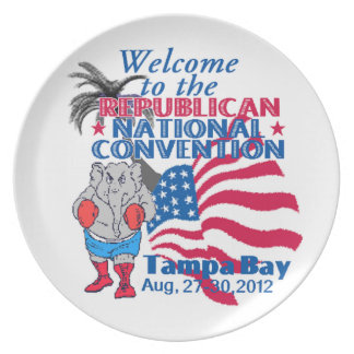 RNC Convention Melamine Plate