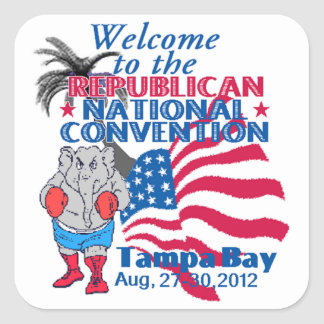 RNC Convention Square Sticker