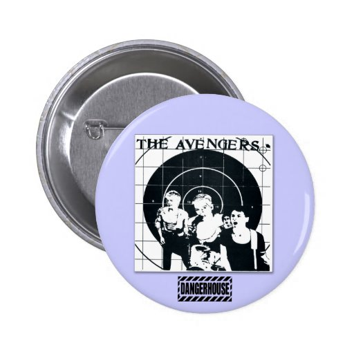 Rnd. Button Avengers We Are The One T Dangerhouse