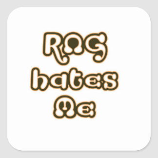 RNG Hates Me sticker