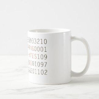 RNG me odia taza de café de los números