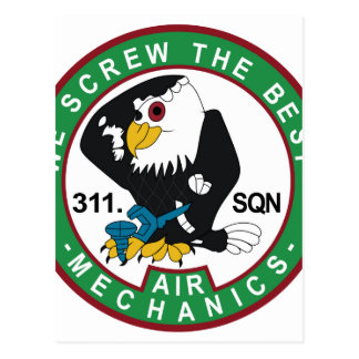 RNLAF Patch 311 Squadron Volkel Patch F16 Fighting Postcards
