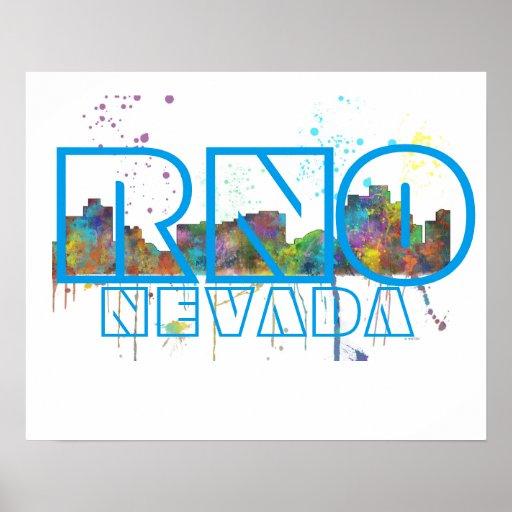 RNO NEVADA - Poster