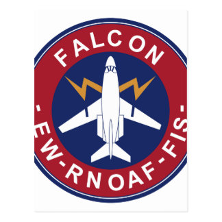 RNoAF Patch 335 Skv B Wing Falcon 20 Electronic Wa Postcard