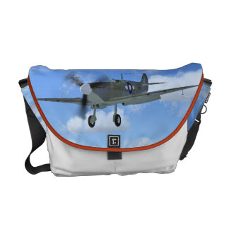 RNSeafire Mk3 Fighter Plane Messenger Bag