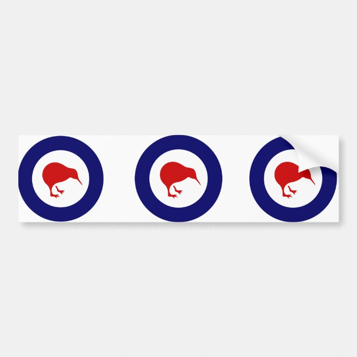 Rnzaf roundel, New Zealand Bumper Sticker