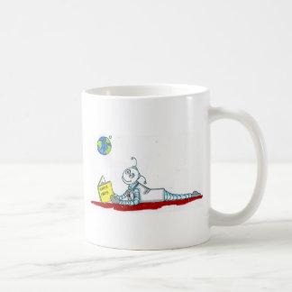 ro bott reading coffee mug