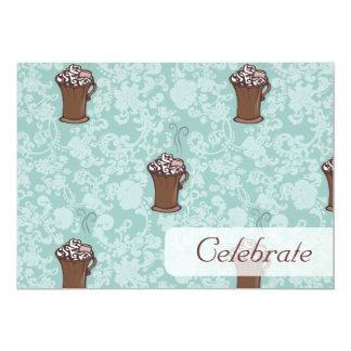 """Ro-Cocoa, 5""""x7"""" invitation"""