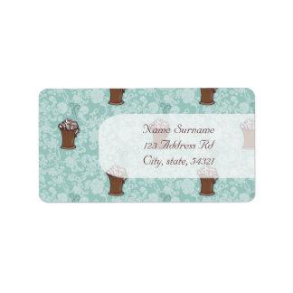 Ro-Cocoa, address labels