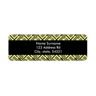 Ro-Cocoa, return address labels