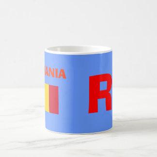 RO Rumania Mug* Taza Básica Blanca