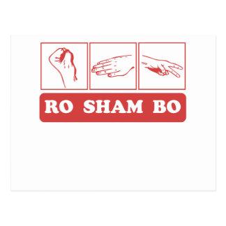 Ro Sham Bo Postcard