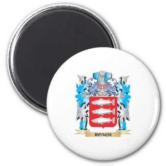 Roach Coat of Arms - Family Crest Magnets