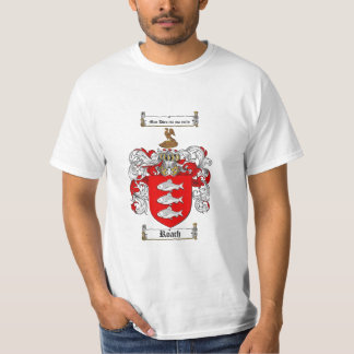 Roach Family Crest - Roach Coat of Arms Shirt